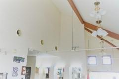 安らぎの高い天井